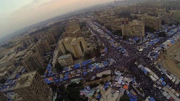 صورة جوية رابعة العدوية