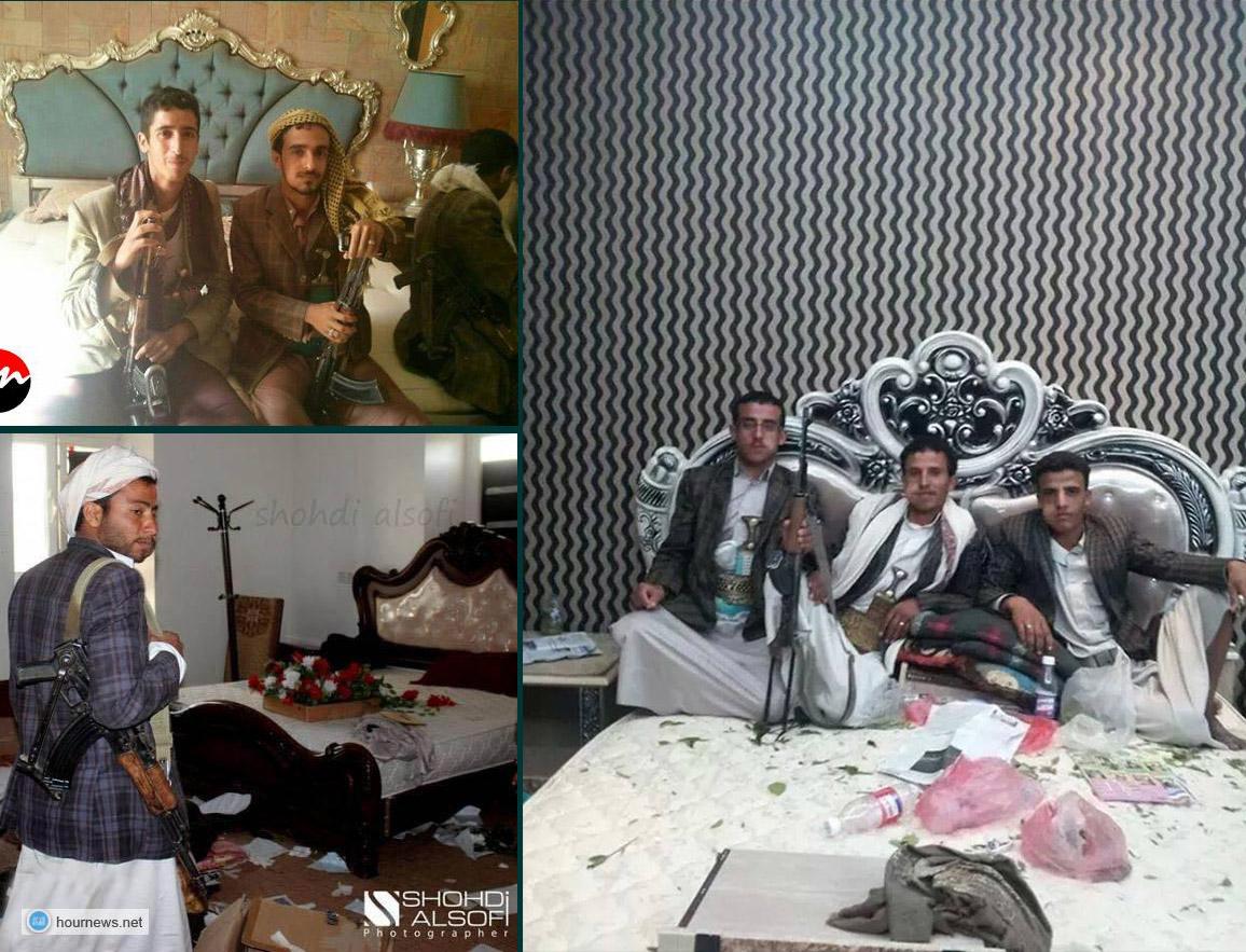 الحوثيون يستولون على غرف نوم خصومهم في صنعاء