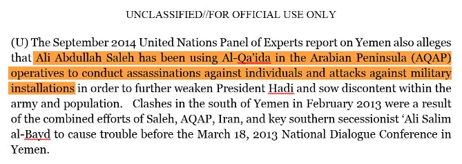 تقرير خبراء مجلس الأمن في اليمن 2015