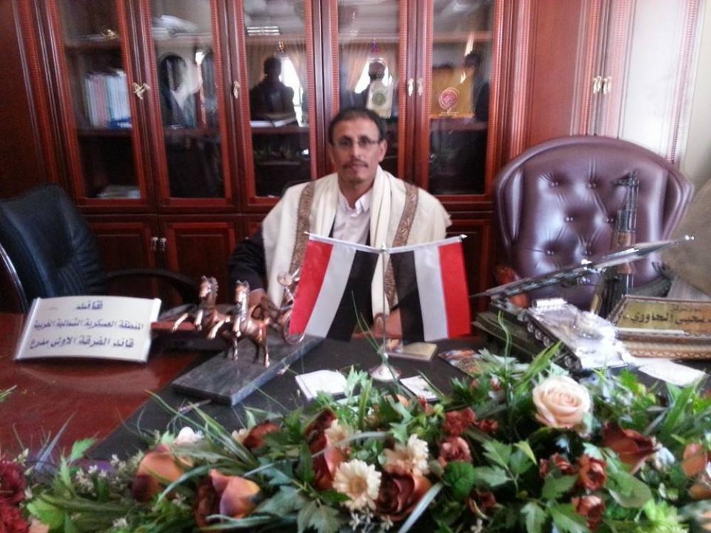 علي محسن الأحمر، اقتحام مكتب، الفرقة الأولى مدرع