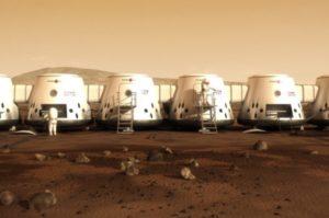 (مستعمرة Mars One)