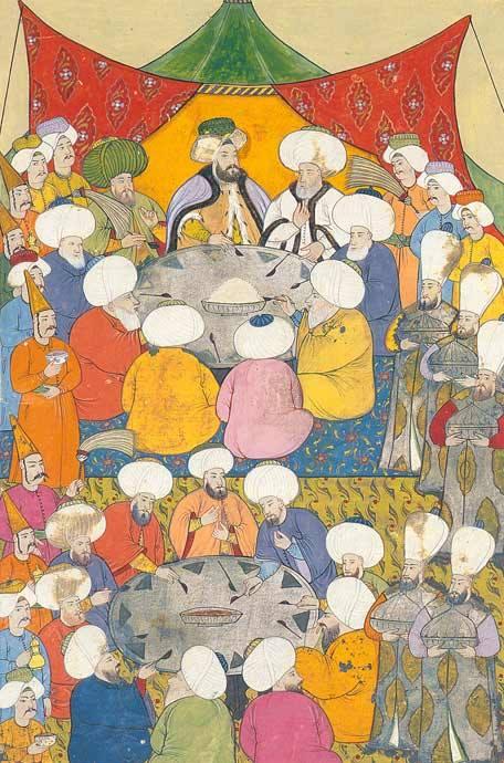 وليمة للسلطان أحمد الثالث في رمضان