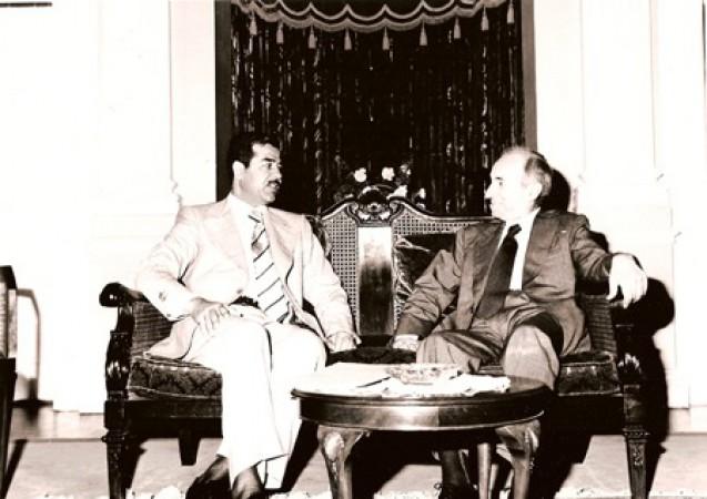 حزب البعث، ميشيل عفلق، صدام حسين