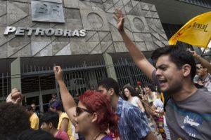 BRAZIL-PETROBRAS-PROTEST