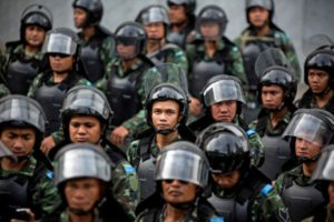 Military Coup Continues In Thailand