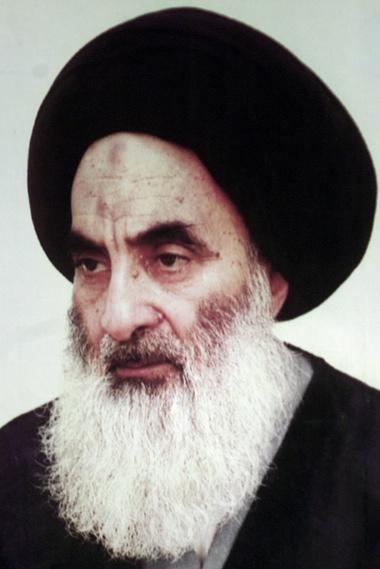 آية الله علي السيستاني، أعلى مرجع ديني في العراق