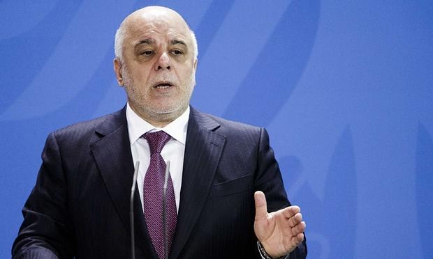 رئيس الوزراء العراقي، حيدر العبادي، الذي أطلق حملة لمكافحة الفساد بدعم من آية الله علي السيستاني