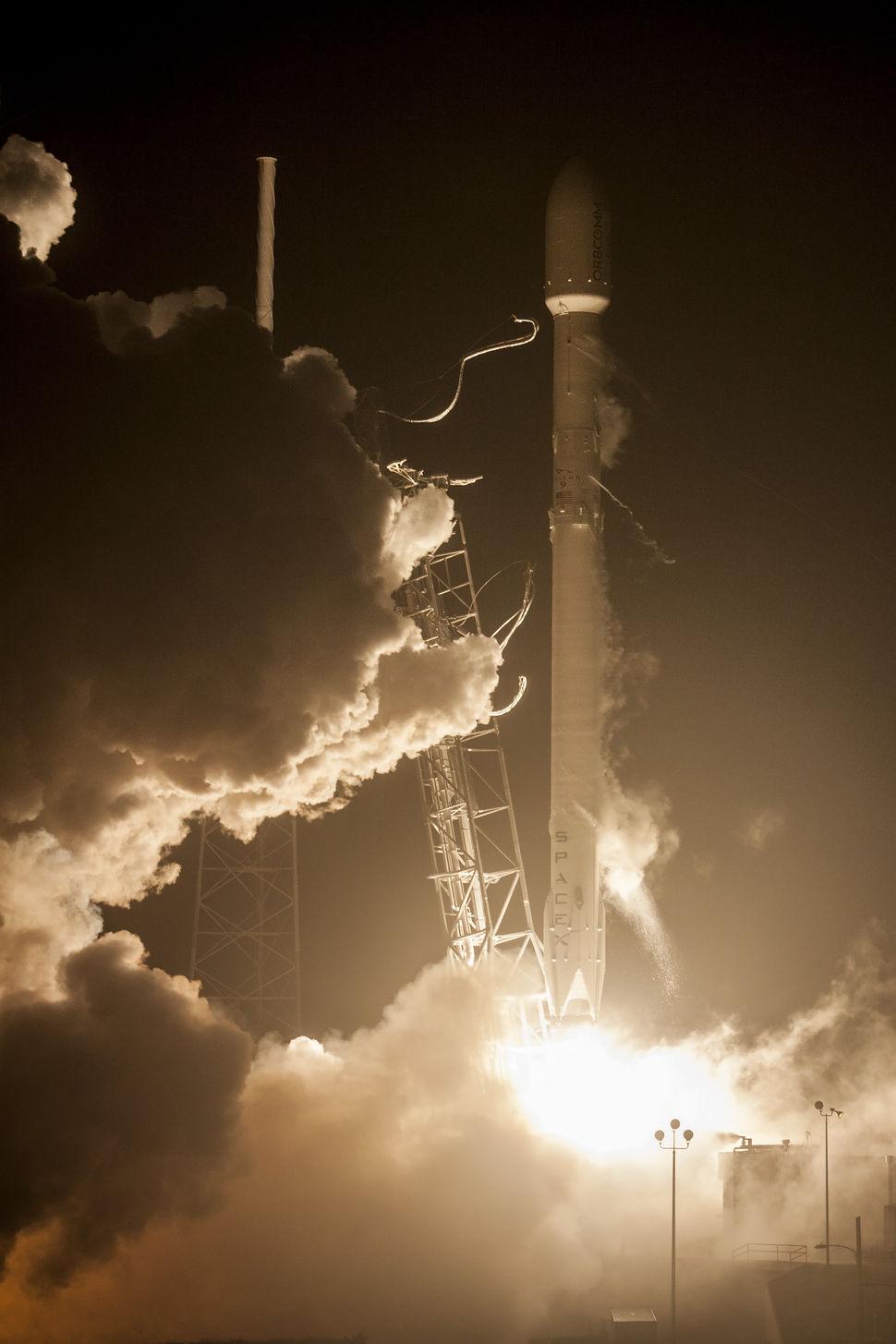إطلاق صاروخي لشركة SpaceX