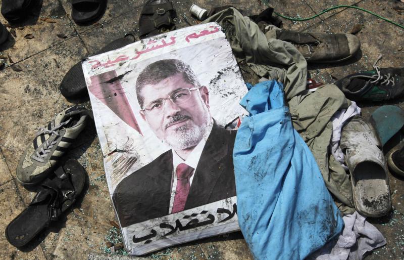 بوستر لمحمد مرسى بأغسطس 2013