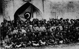 جنود أكراد ضمن الجيش العثماني