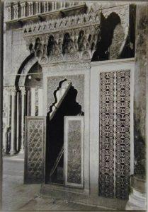 منبر صلاح الدين الذى أمر بإنشاءه نور الدين محمود زنكي