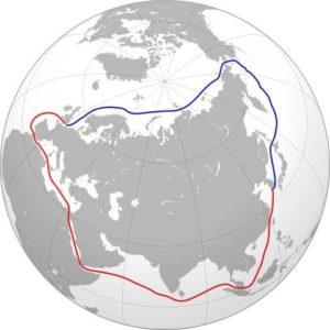 قناة السويس الممر الشمالي الشرقي