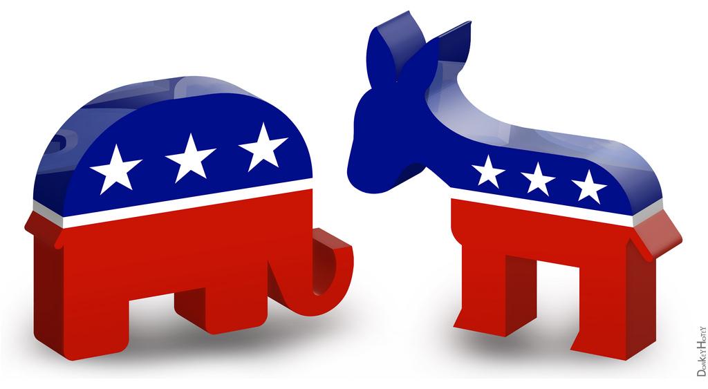 الأحزاب السياسية اولايات المتحدة أمريكا