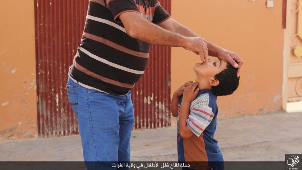 داعش، الدولة الإسلامية، ديوان الصحة، حملة تطعيمات
