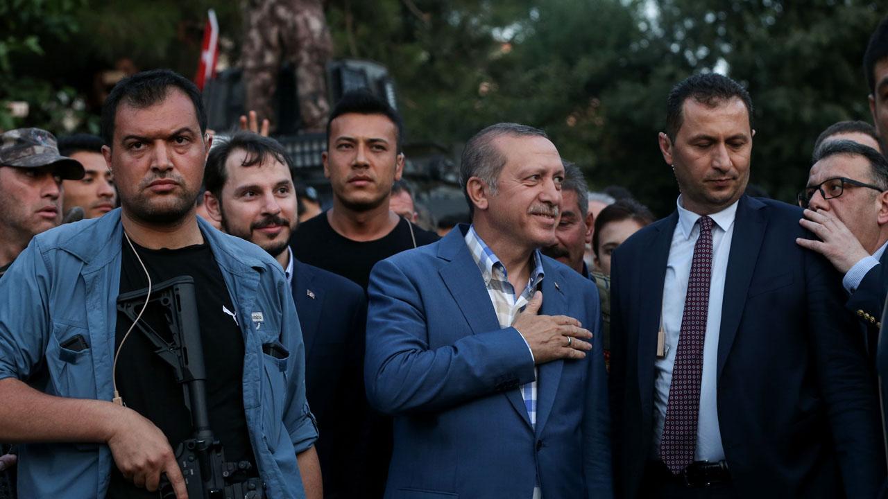 رجب طيب أردوغان، تركيا، حزب العدالة والتنمية، انقلاب