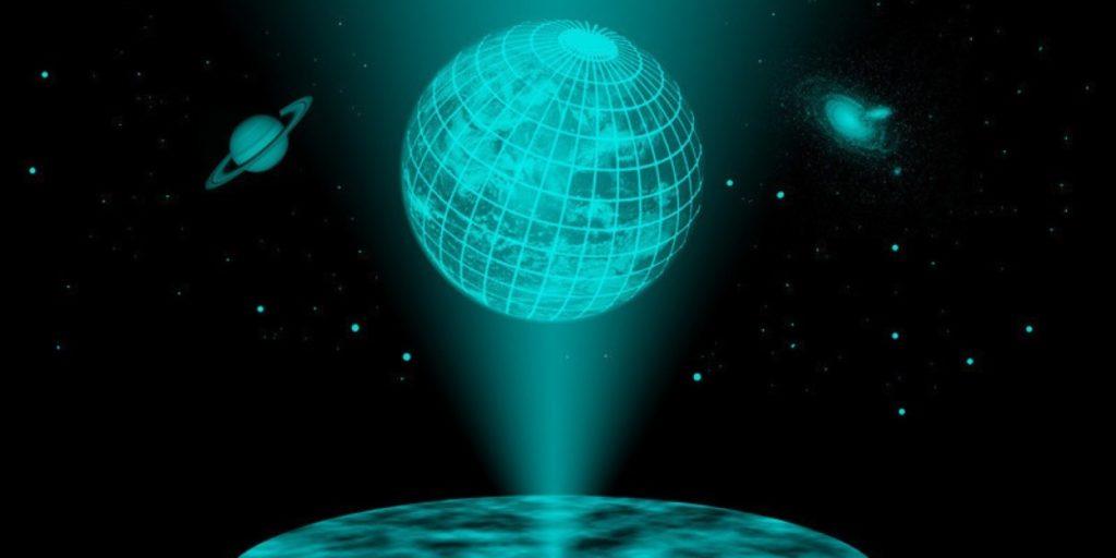 ميكانيكا الكم الثقوب السوداء الكون الهولوجرامي