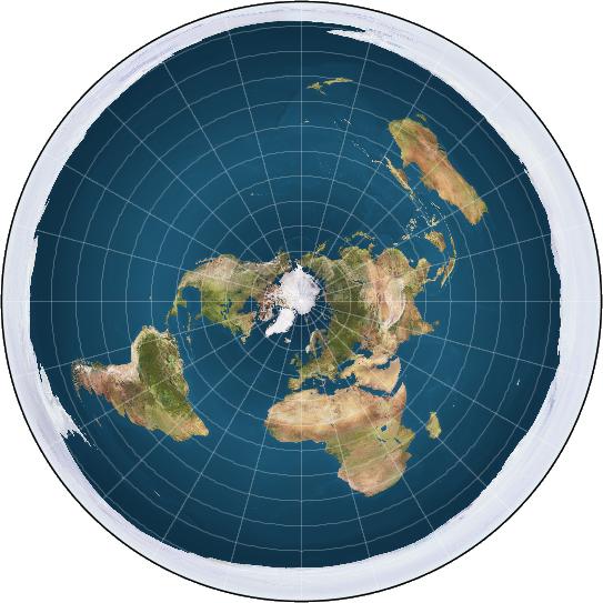 الأرض المسطحة