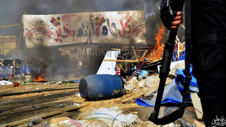 فض رابعة، اعتصام رابعة العدوية، اعتصام النهضة، الإخوان المسلمون