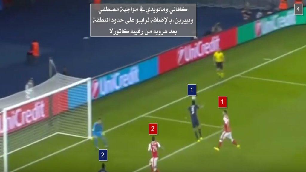 أسرع هدف تلقاه أرسنال في تاريخه في البطولة