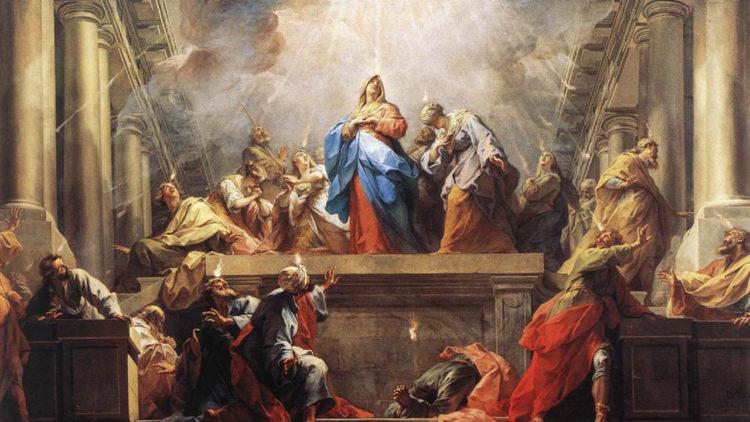 المسيحية، عيد العنصرة، تلاميذ المسيح