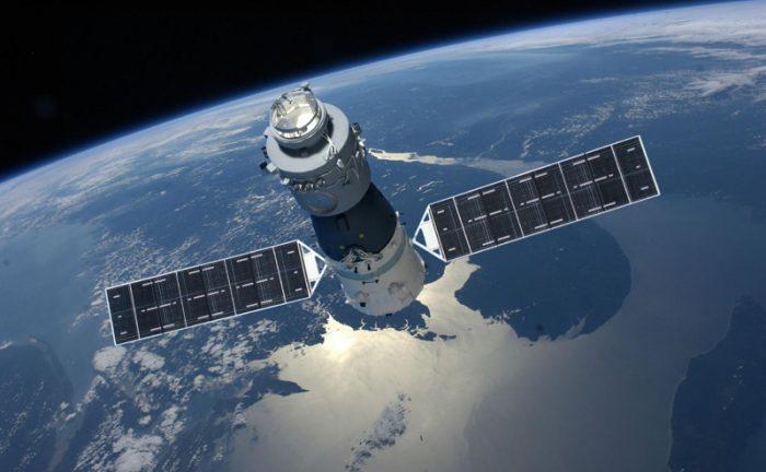 محطة الفضاء الصينية الصين تيانجونج