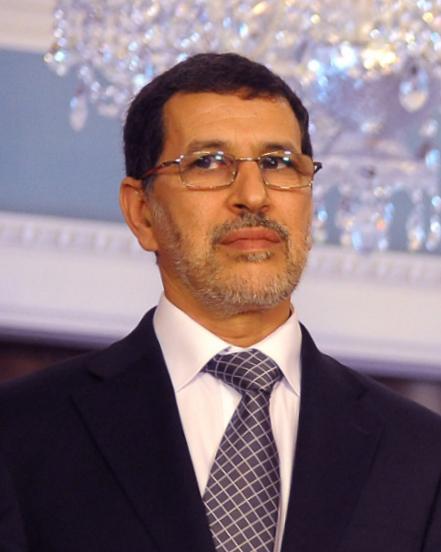 «سعد الدين العثماني» وزير الشؤون الخارجية والتعاون بحكومة «عبد الإله بن كيران»