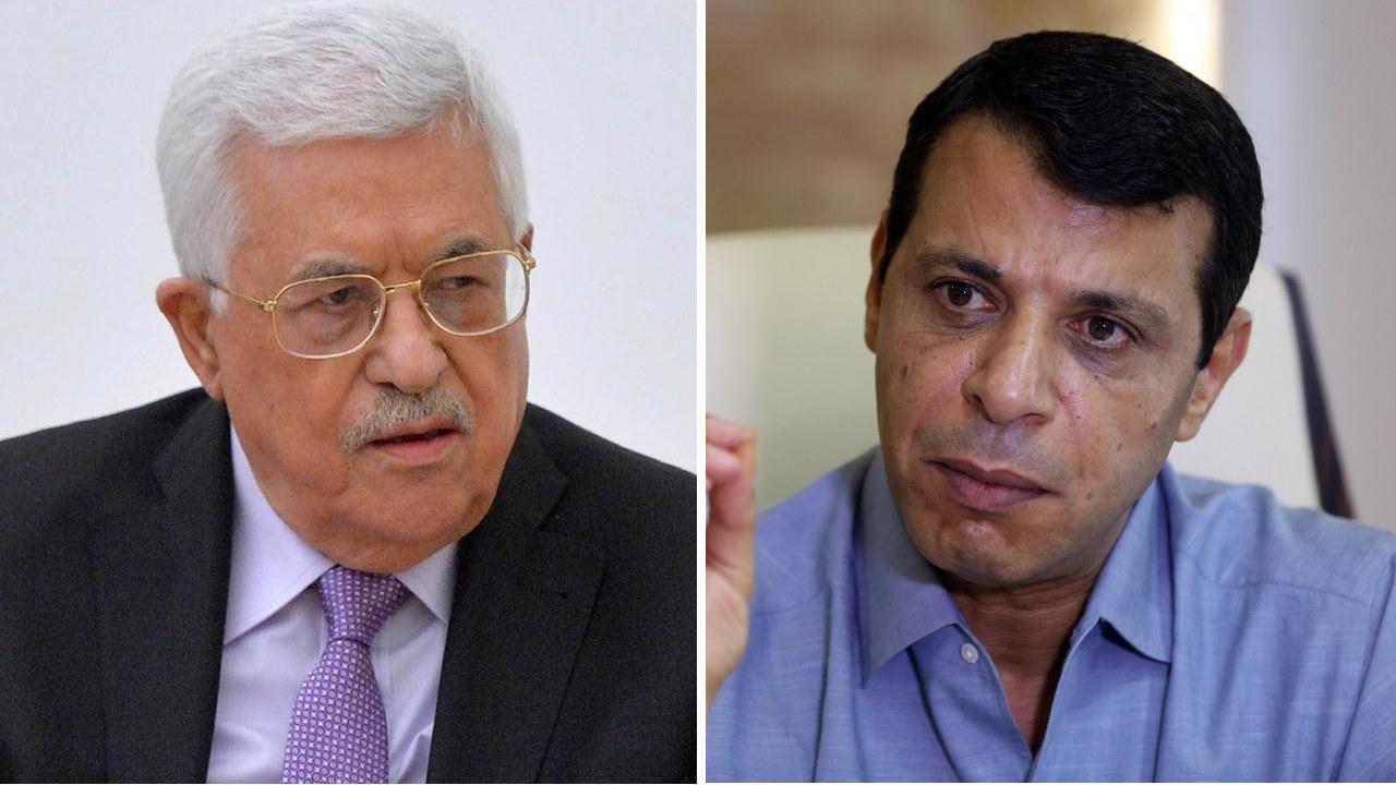 محمد دحلان، محمود عباس، فتح، فلسطين