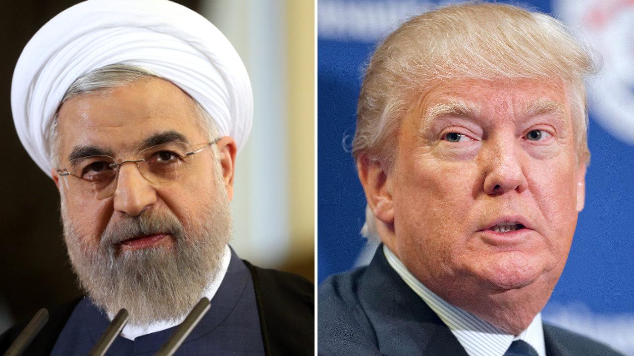 حسن روحاني، دونالد ترامب، الولايات المتحدة، إيران