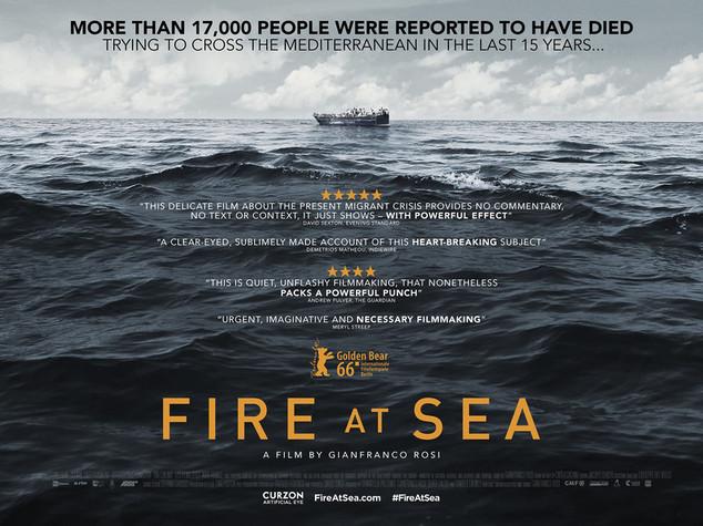 """الفيلم الإيطالي """"حريق في البحر"""""""