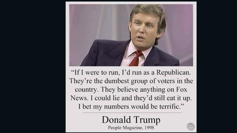 ترامب، اقتباس، فيسبوك