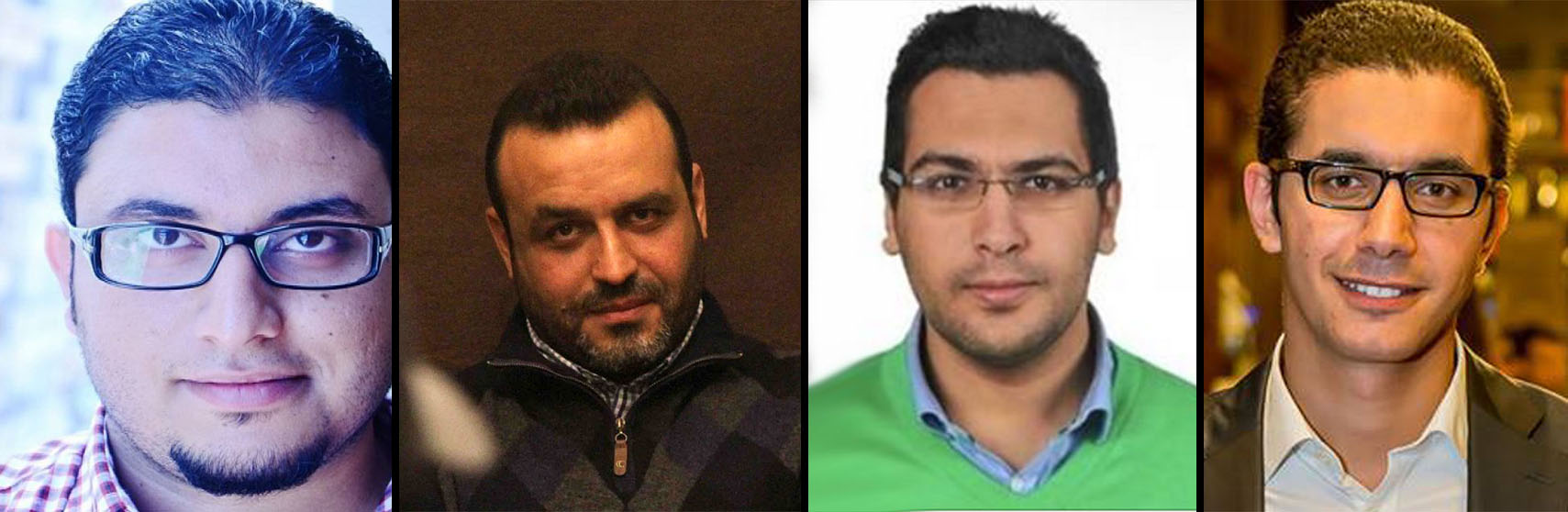 أحمد عبد الحميد، عبد الرحمن عياش، أسامة الشاذلي، أنس حسن