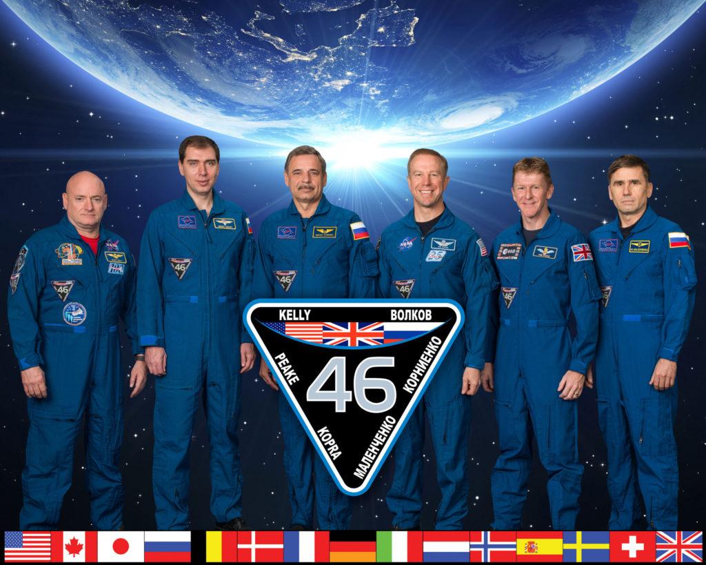 البعثة 46 محطة الفضاء الدولية
