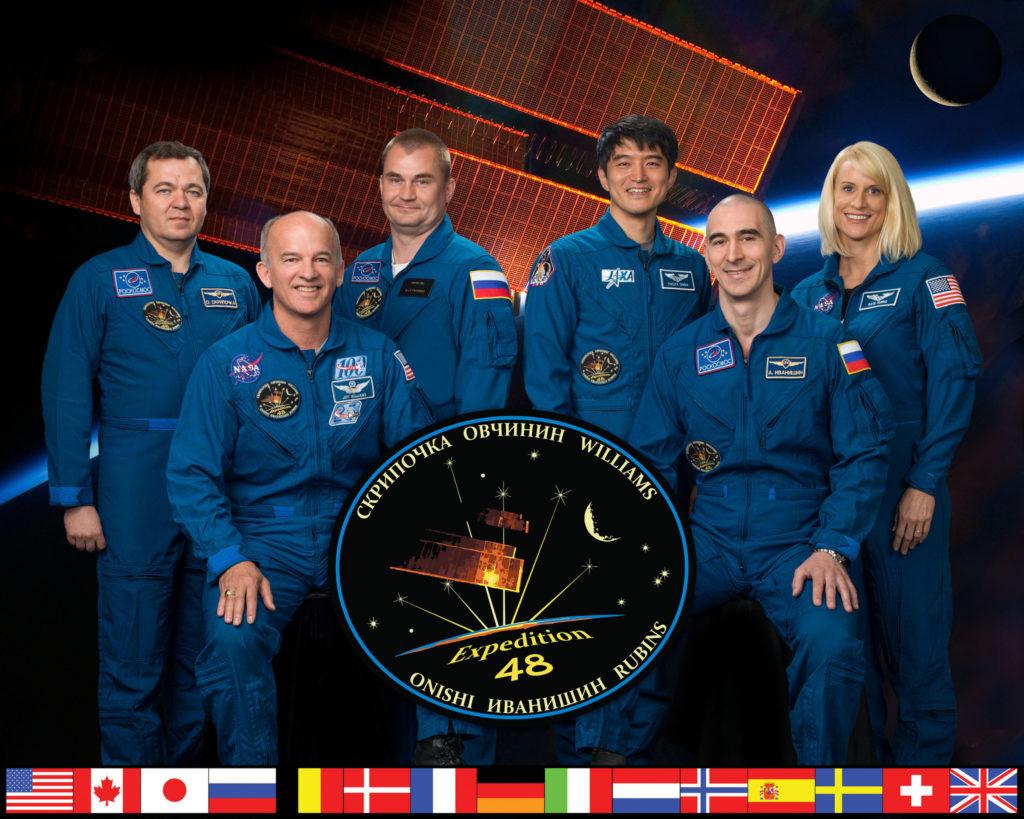 البعثة 48 محطة الفضاء الدولية