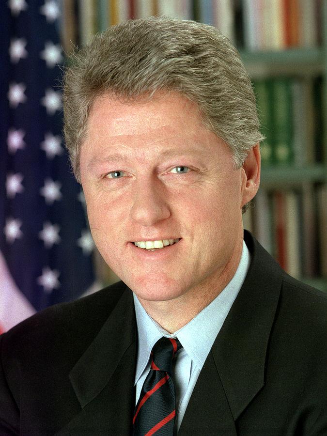 بيل كلنتون، أمريكا