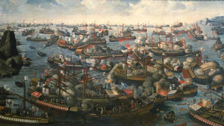 لوحة معركة ليبانتو