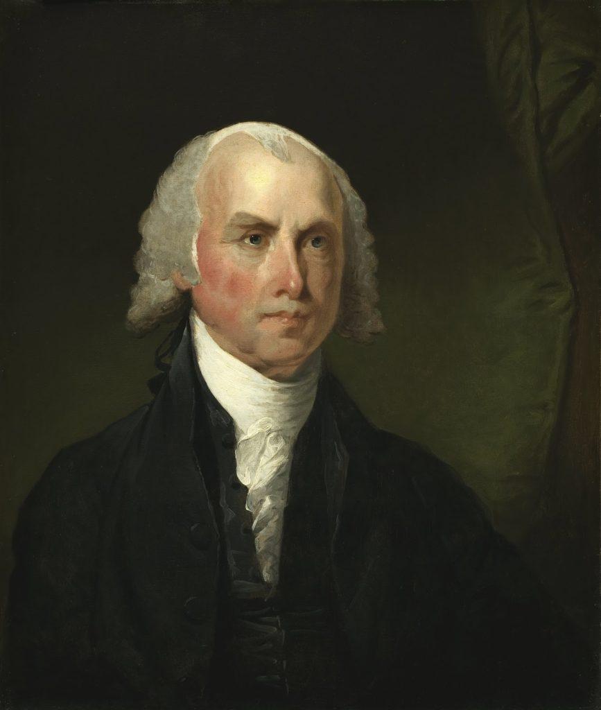 جيمس ماديسون، الولايات المتحدة الأمريكية