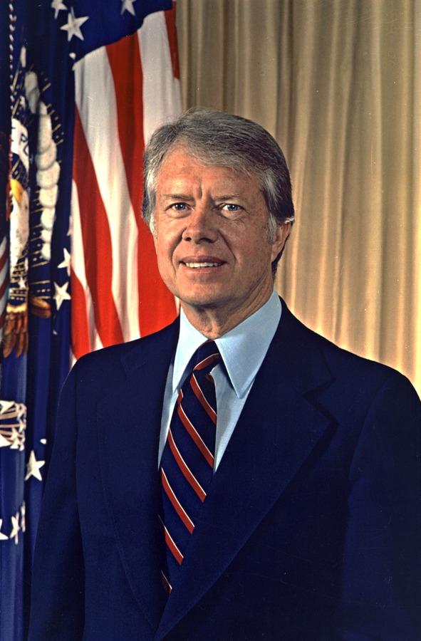 جيمي كارتر، أمريكا