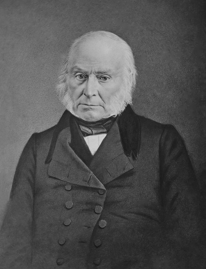 جون كوينسي آدامز، أمريكا