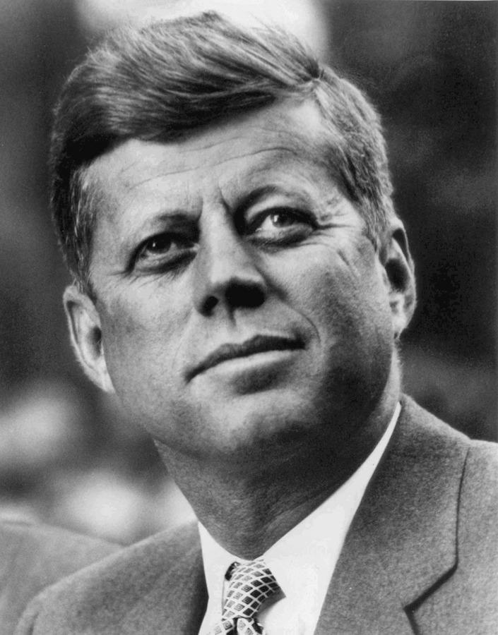جون كينيدي، أمريكا