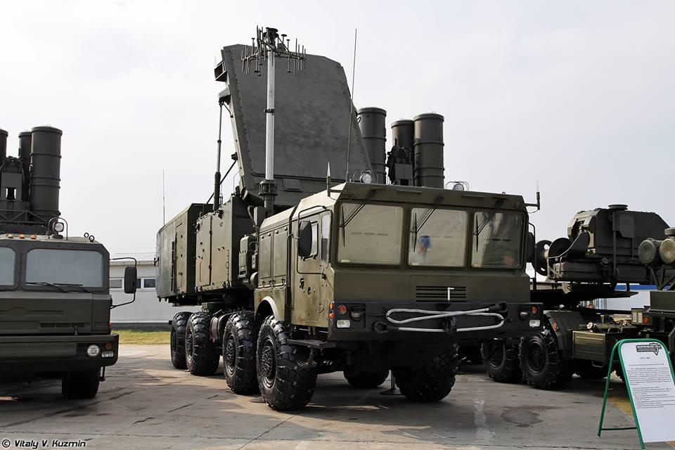 الرادار 92N2 و العربة 5P85T2