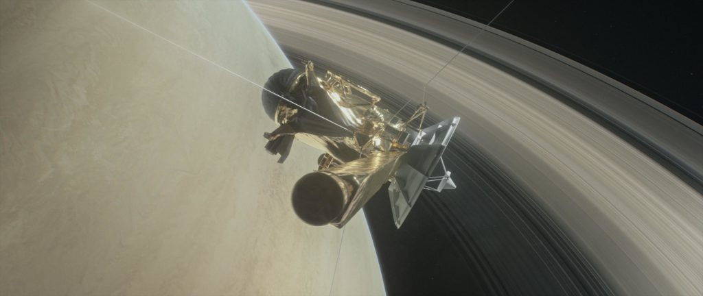 ناسا المشترى زحل قمر حياة كاسيني إنسيلادوس