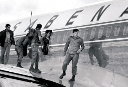 سابينا 571 - أيلول الأسود - مطار اللد