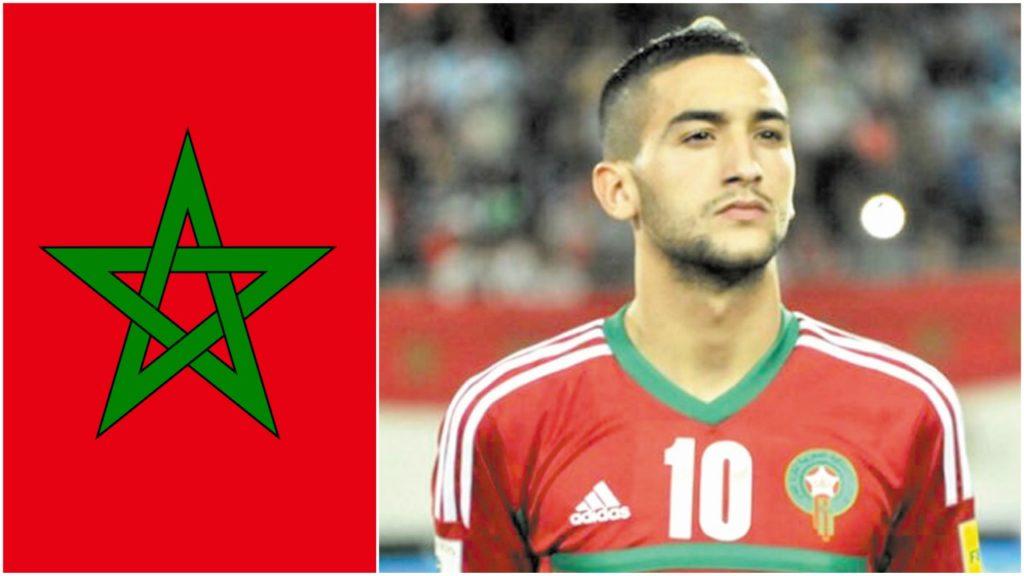 حكيم زياش، المغرب