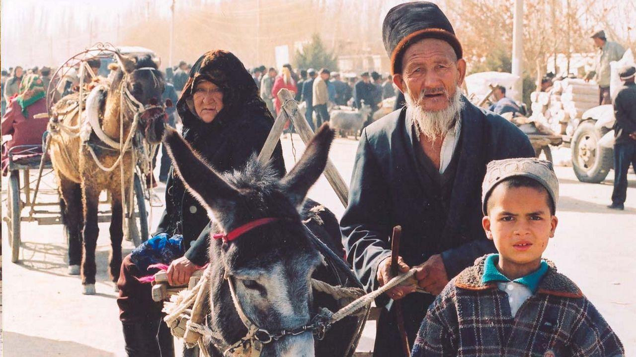عرقية الإيغور بمدينة كشغار الصينية