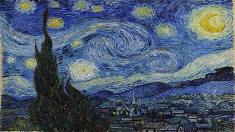 ليلة النجوم، فان خوج، فن تشكيلي، المدرسة الانطباعية