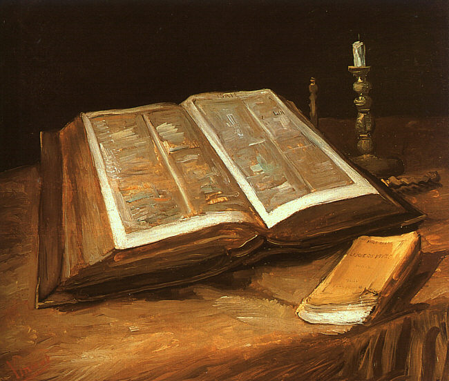 Still Life with Bible ، فان جوخ