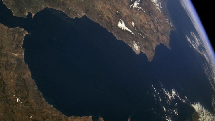 البحر المتوسط، جيولوجيا، جفاف