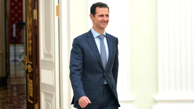 بشار الأسد، سوريا