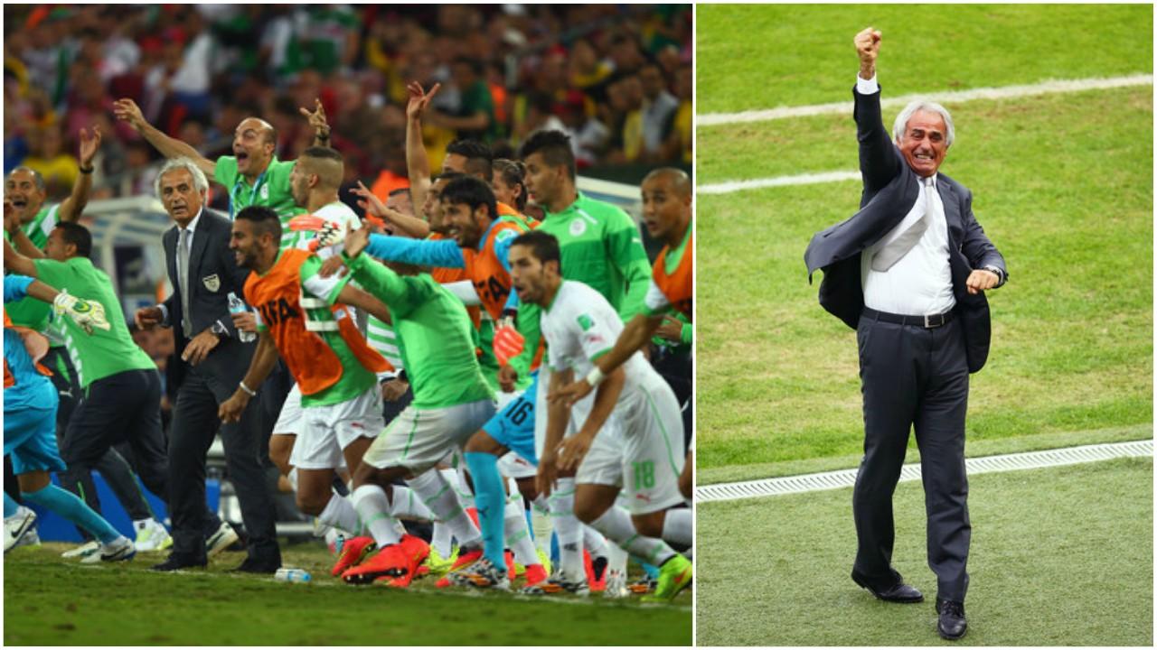 حاليلوزيتش، مُنتخب الجزائر، كأٍ العالم 2014