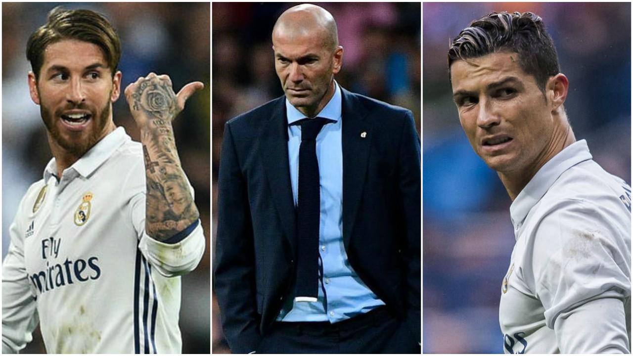 رونالدو، زيدان، راموس، ريال مدريد